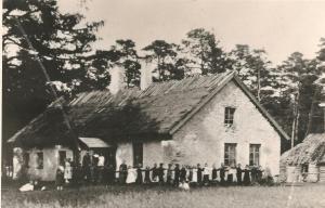 Oru kool 1881-1921 Kalmumännikus Nõrava külas