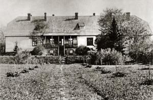 Tammiku mõisa peahoone 20. sajandi algul