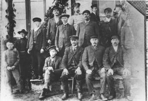 Tuhala mõisa antvärgid 1900. aasta paiku